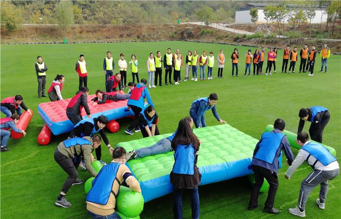 武汉乐农湖畔公司团队一日游项目财源滚滚