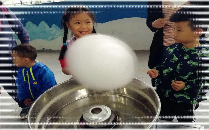武汉好玩的亲子游DIY棉花糖制作